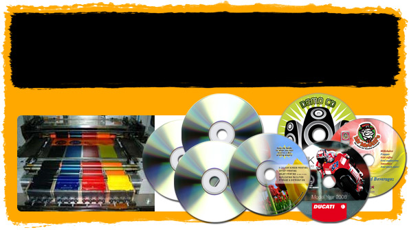 CD DVD Printing Duplication