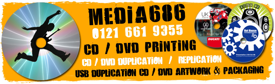 Media686Ltd - CD Printing, DVD Printing
